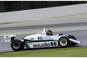 ex-Keke Rosberg Williams FW08