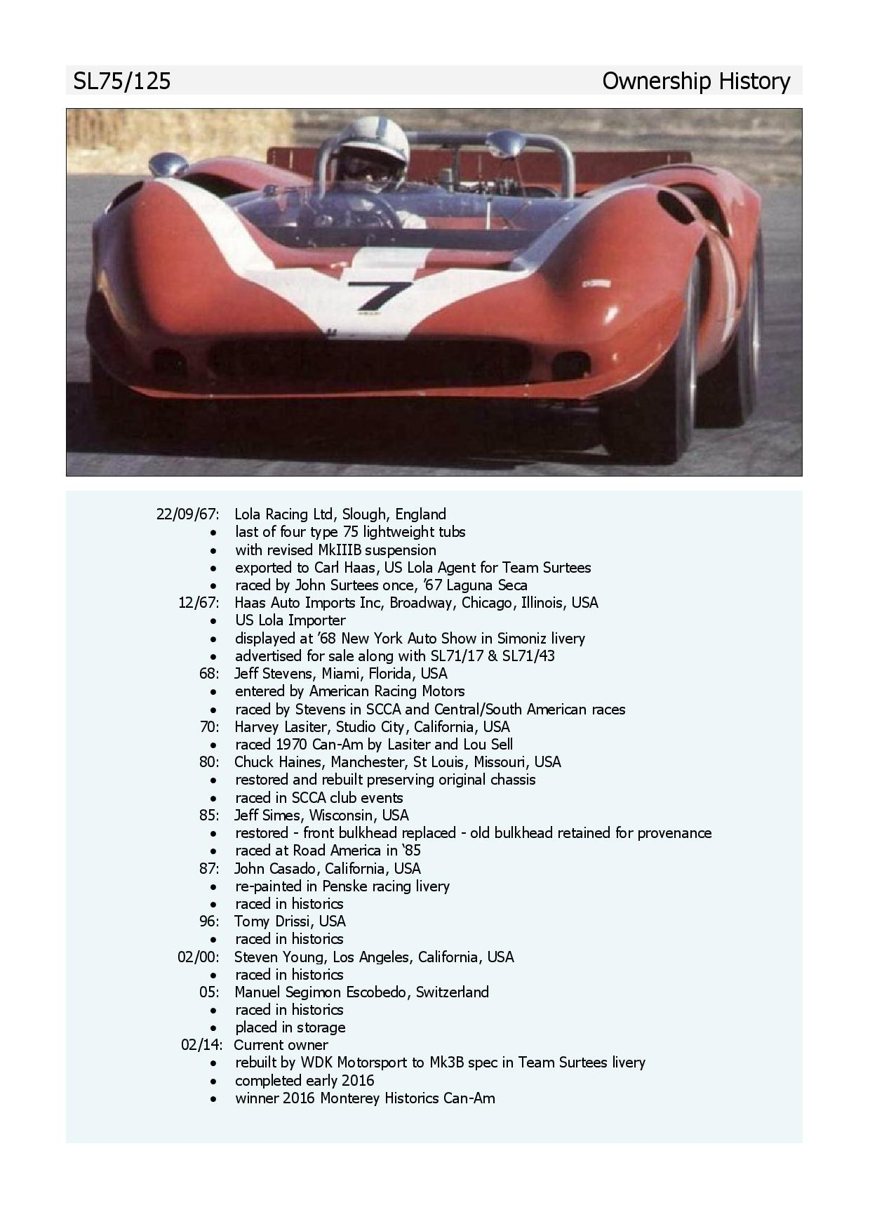 Ownership History page 001